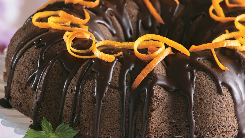 Chocolate Cake à l'Orange