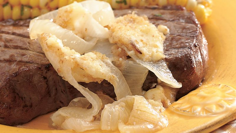 Grilled Onions au Gratin