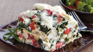 Slow-Cooker Rosemary Chicken Lasagna