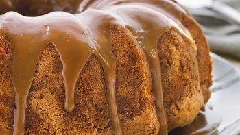 Caramel-Glazed Pear Cake