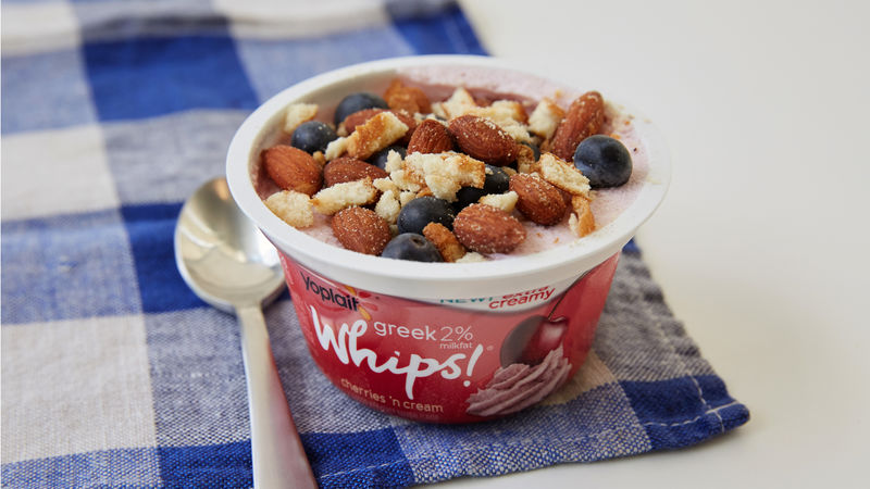 Whipped Cherry Berry Crunch Cup