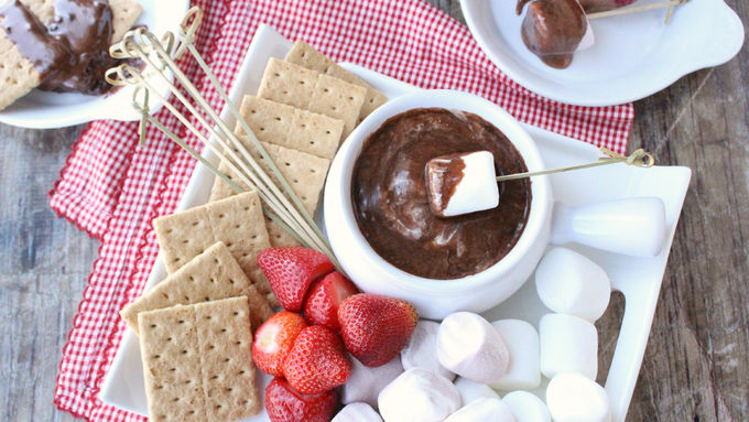 Slow-Cooker S'mores Dip