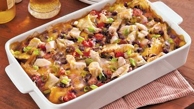 Ranch Turkey Ravioli Casserole
