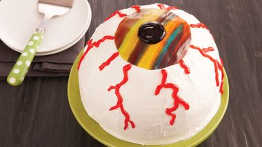 Halloween Eyeball Cake