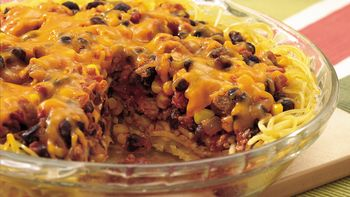 Southwestern Spaghetti Pie