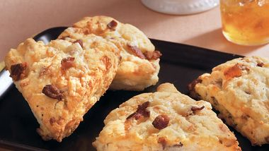 Gluten-Free Bacon Gruyère Scones