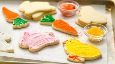 Easter Cutout Cookies