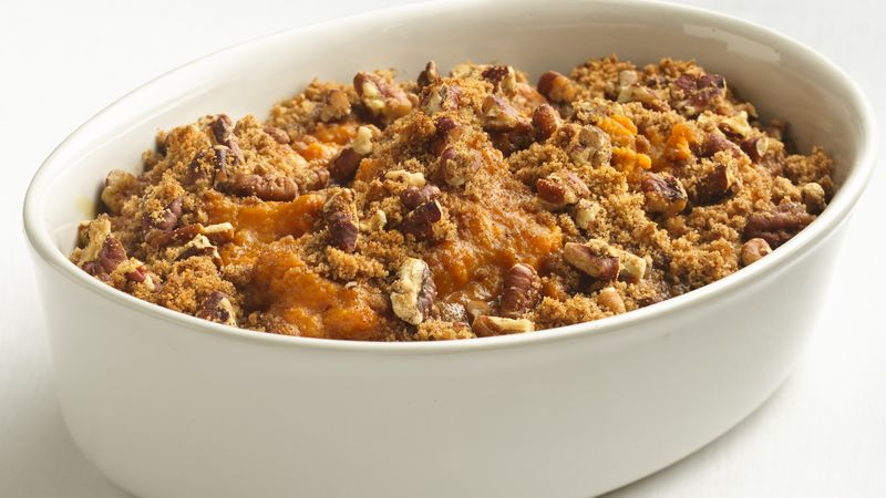 Skinny Sweet Potato Casserole