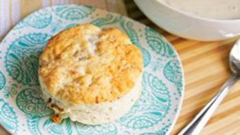 Rosemary Asiago Bacon Biscuits