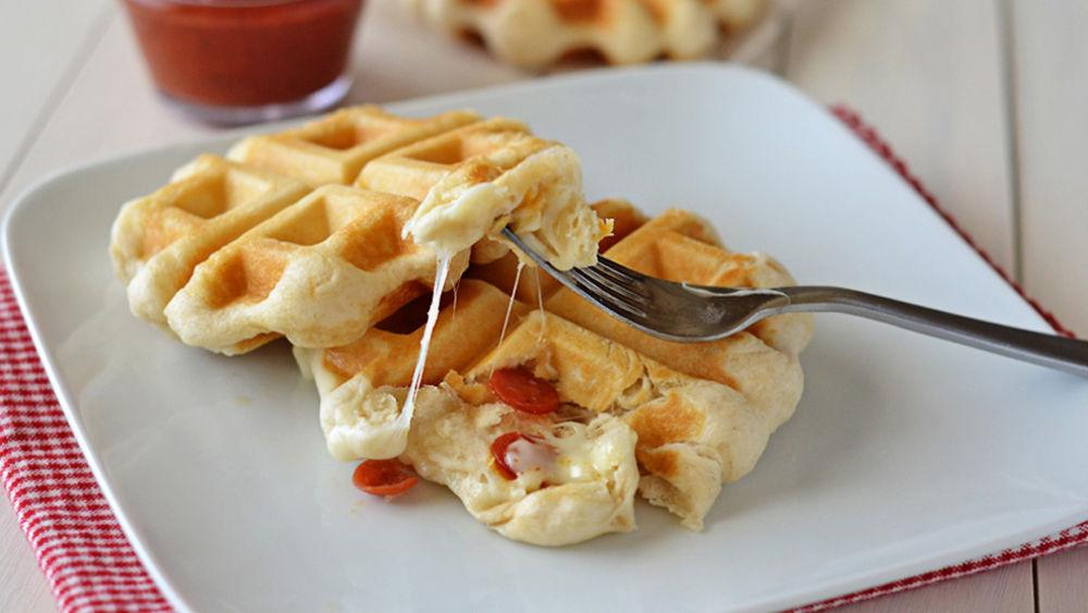 Pizza Waffles recipe from Pillsbury.com
