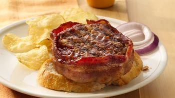 Grilled Meatloaf Patties