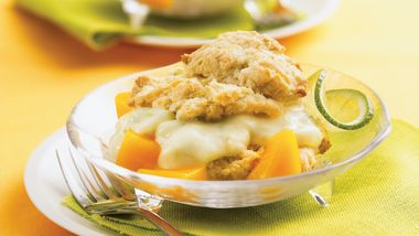 Mango-Lime Shortcakes