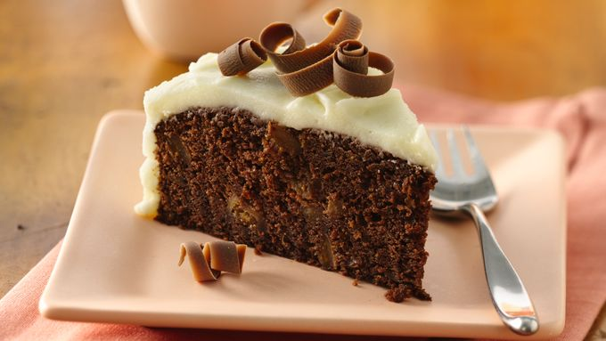 Chocolate-Fig Cake with Mascarpone Frosting