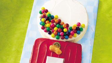 Gum Ball Machine Cake