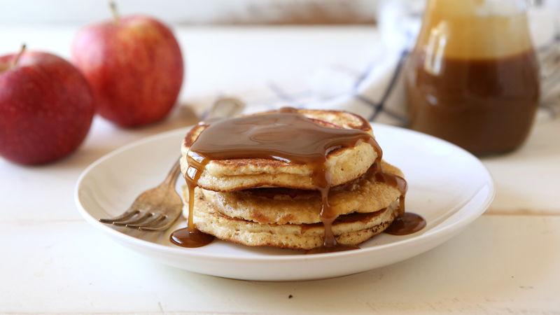 Caramel-Apple Pancakes