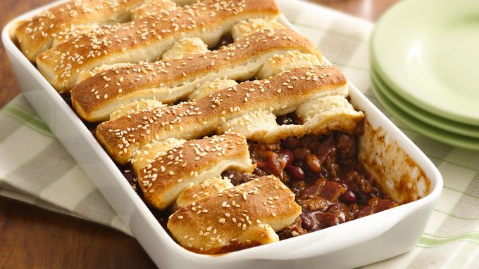 Two-Bean Burger Casserole