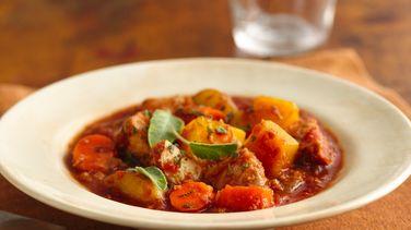 Winter Squash and Pork Stew