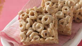 Honey Nut-Marshmallow Bars