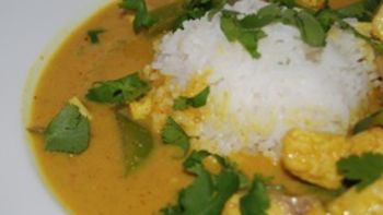 Thai Yellow Curry with Fish