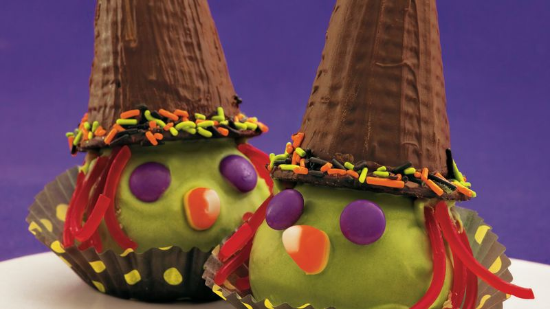 Halloween Witch Cake Balls