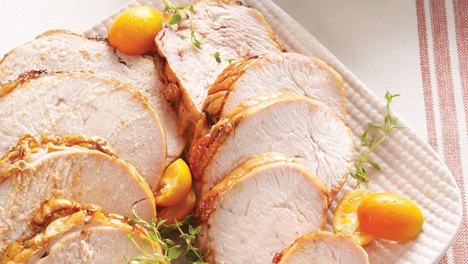 Cider-Brined Turkey Breast