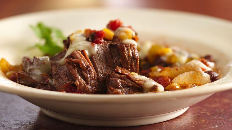 Slow-Cooker Tex-Mex Round Steak