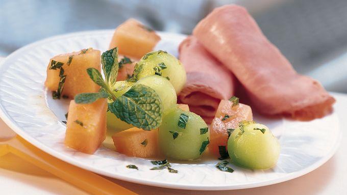 Lime-Mint Melon Salad