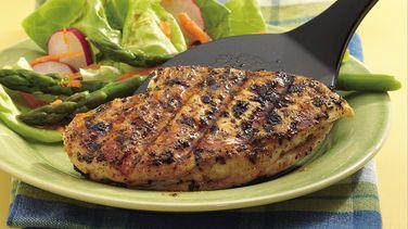 Sage and Garlic Grilled Chicken Breasts