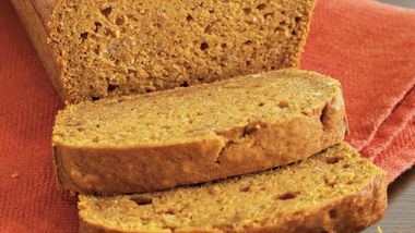 Browned Butter Pumpkin Bread