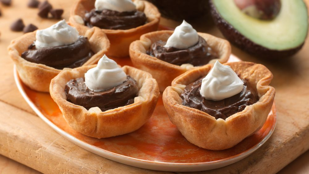 Chocolate Avocado Pie Bites