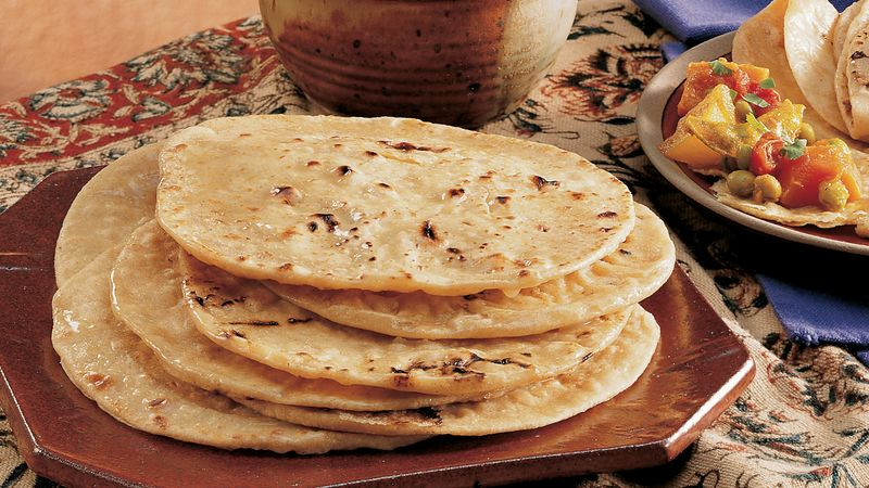 Whole Wheat Unleavened Breads (Rotis)