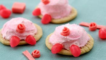 Pig Butt Cookies