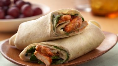 Sweet and Spicy Chicken Wraps