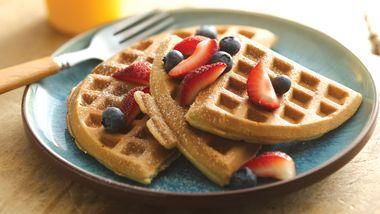 Gluten-Free Homemade Waffles