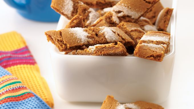 Lickety-Split Gingersnaps