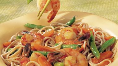 Japanese Shrimp and Soba Noodles