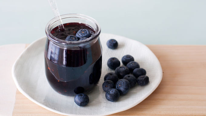 Easy Blueberry-Chipotle Glaze
