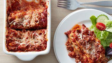 Italian Sausage Lasagna (Cooking for 2)