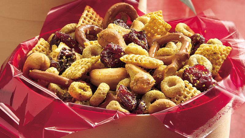 Curried Snack Mix