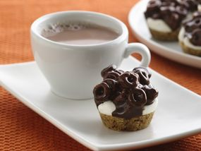 Chocolate Cheerios® Marshmallow Bites