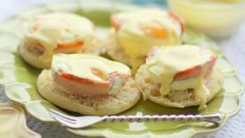 Canadian Bacon Cup Benedict