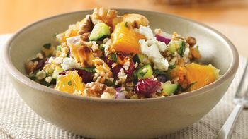Fruited Tabbouleh with Walnuts and Feta