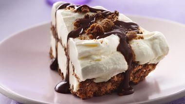 Gluten-Free Chocolate Chip Cookie Ice Cream Pie