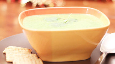 Spinach Soup with Yogurt