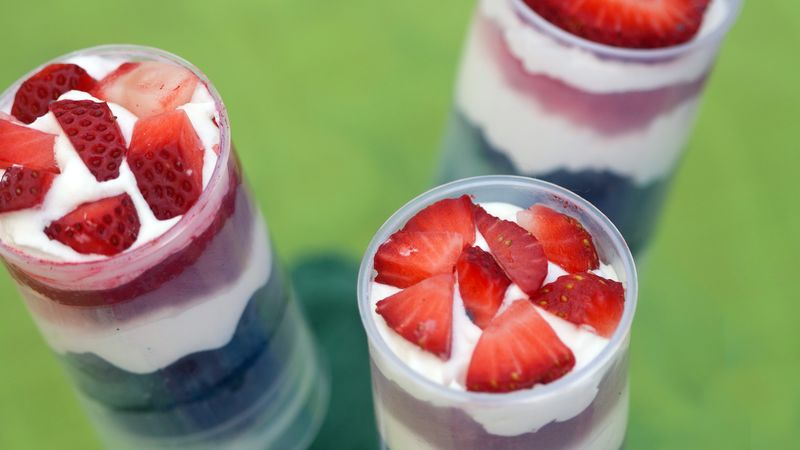 Fresh Berry Push It Up Pops