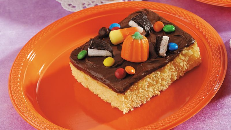 Trick-or-Treater's Delight Cake