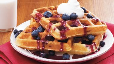 Raised Belgian Waffles