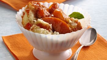 Tropical Peach Cobbler