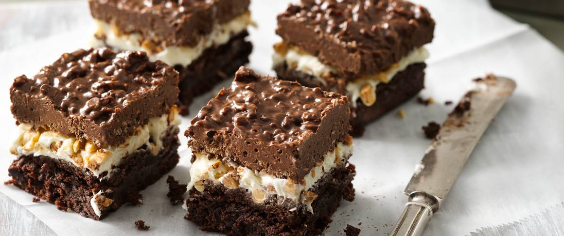 Brownie Goody Bars recipe from Betty Crocker