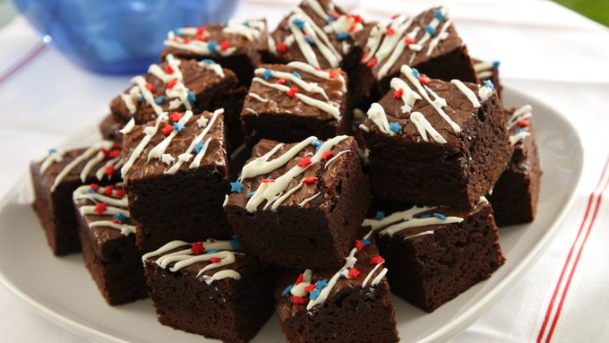 Star-Spangled Brownies